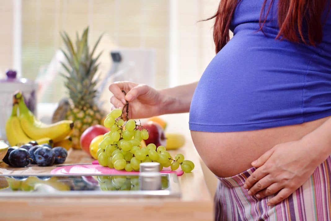 A Mediterranean diet in pregnancy is associated with lower risk of accelerated growth