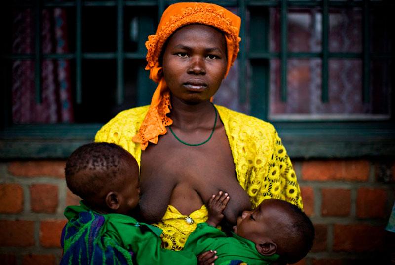 Грудное вскармливание в Эфиопии